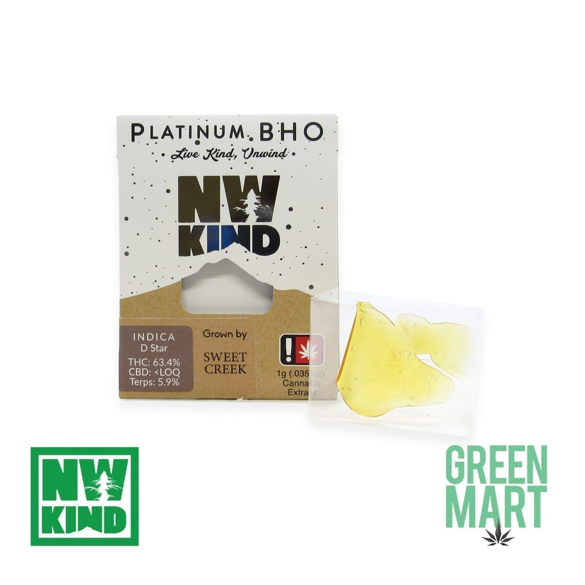 NW Kind Shatter - D Star