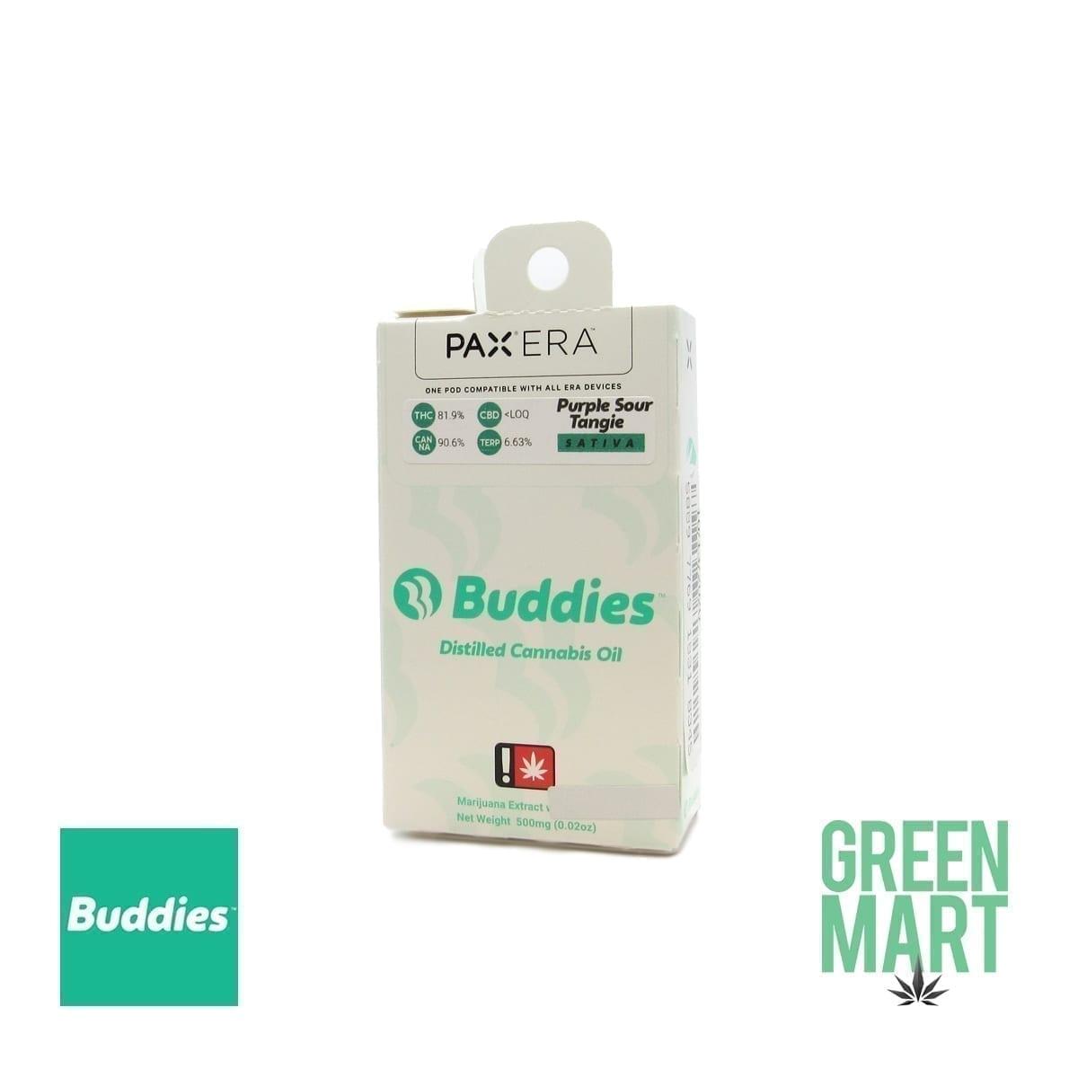 Buddies Brand Pax Pod - Purple Sour Tangie