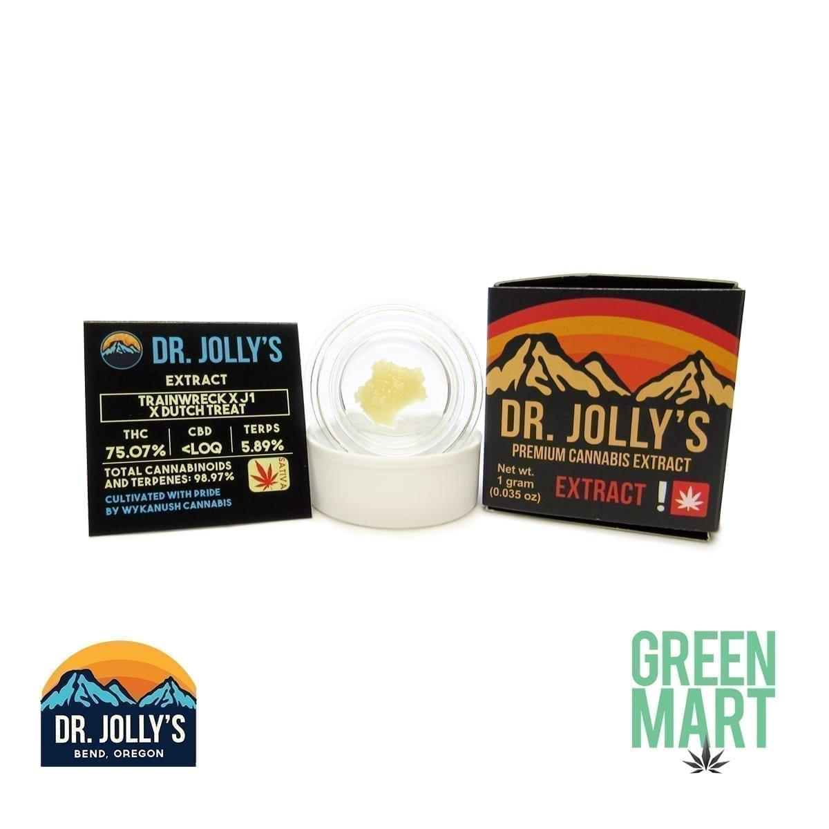 Dr. Jolly's Extracts - Trainwreck X J1 X Dutch Treat