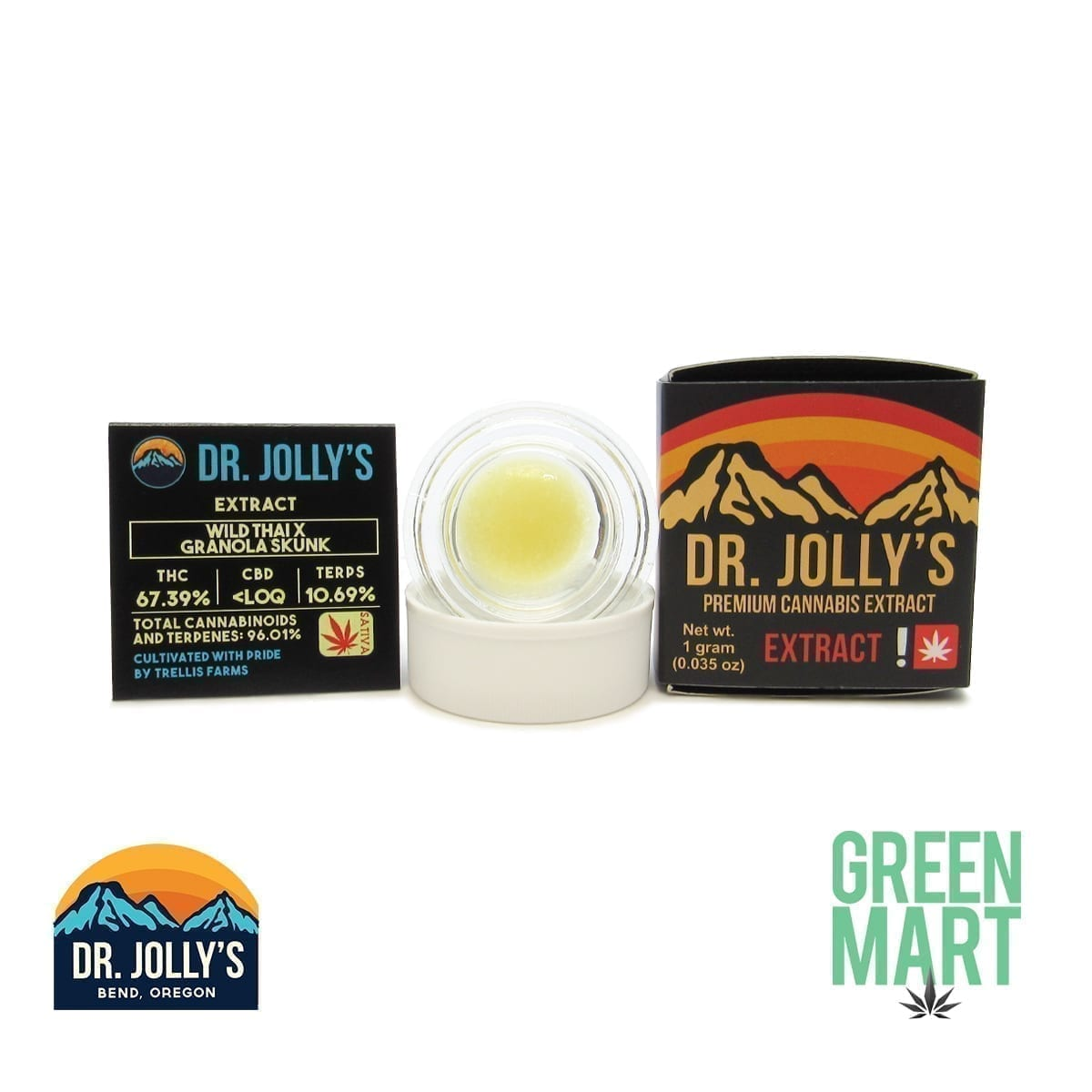 Dr. Jolly's Extracts - Wild Thai X Granola Funk
