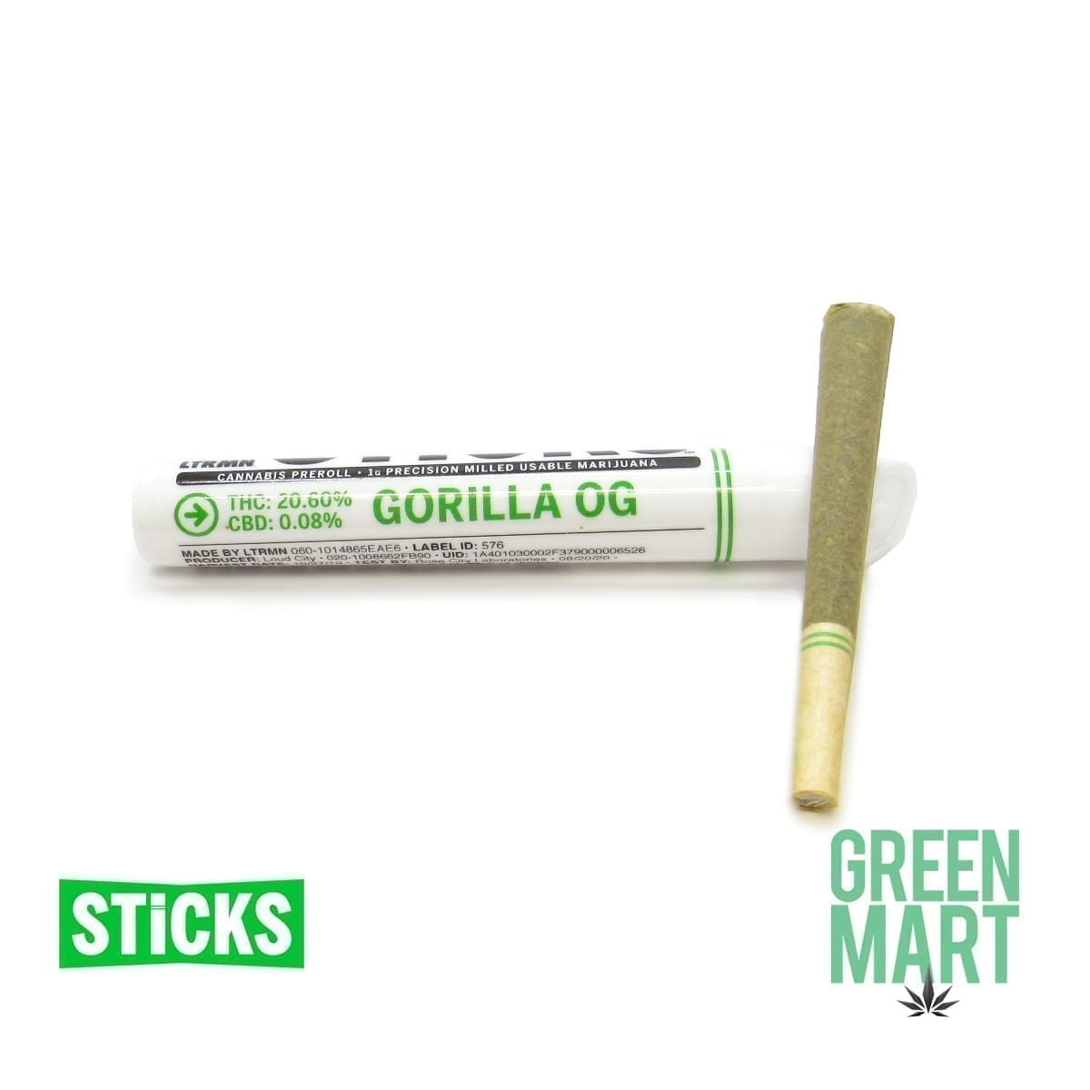 1g Gorilla OG Pre-Roll