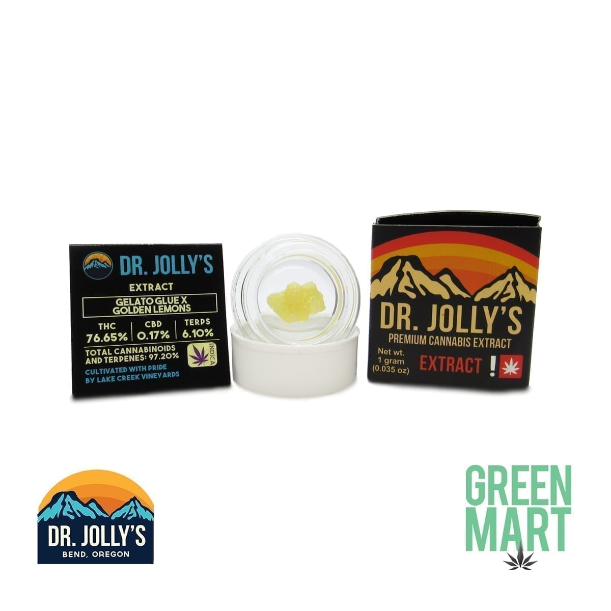 Dr. Jolly's Extracts - Gelato Glue X Golden Lemons