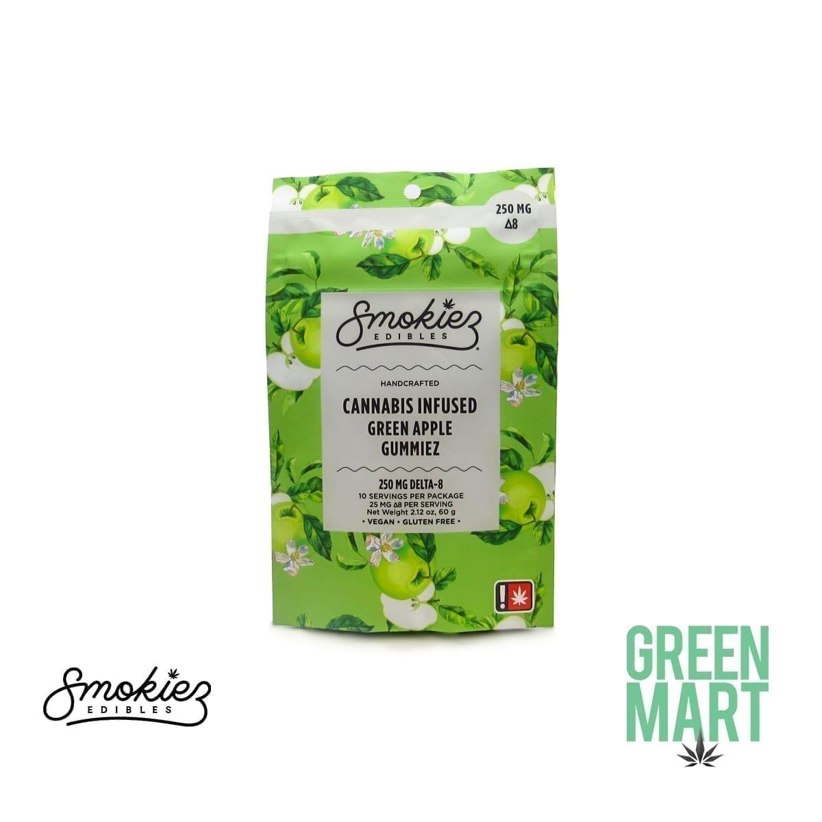Smokiez Delta-8-THC Gummiez - Green Apple
