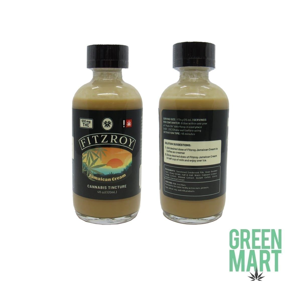 Fitzroy - Jamaican Cream Cannabis Tincture