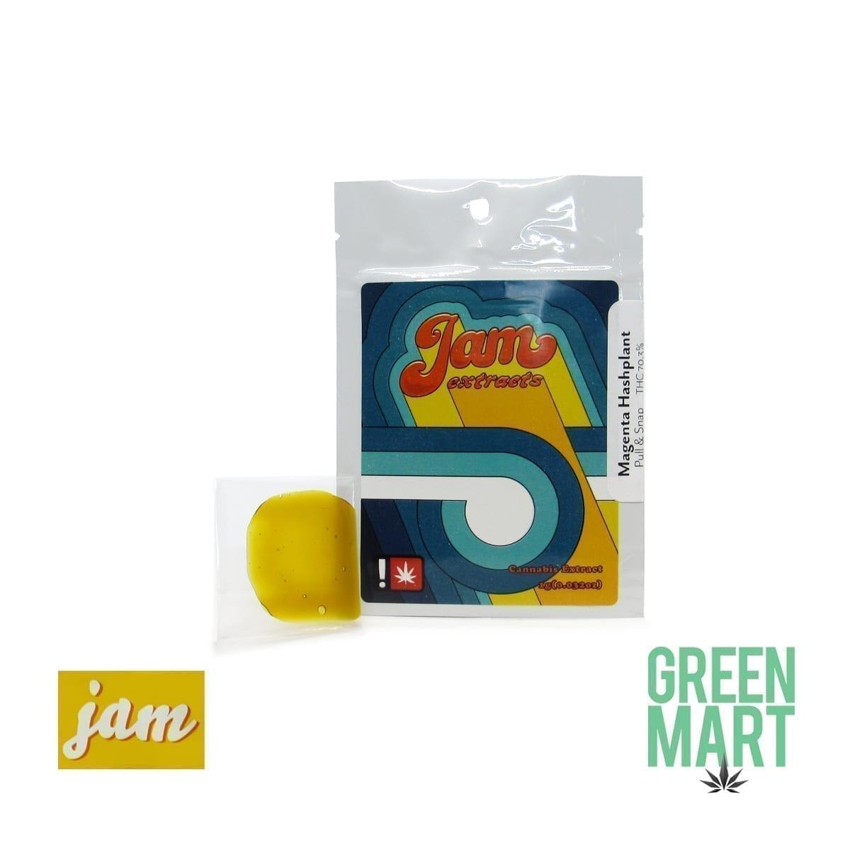 JAM - Magenta Hashplant