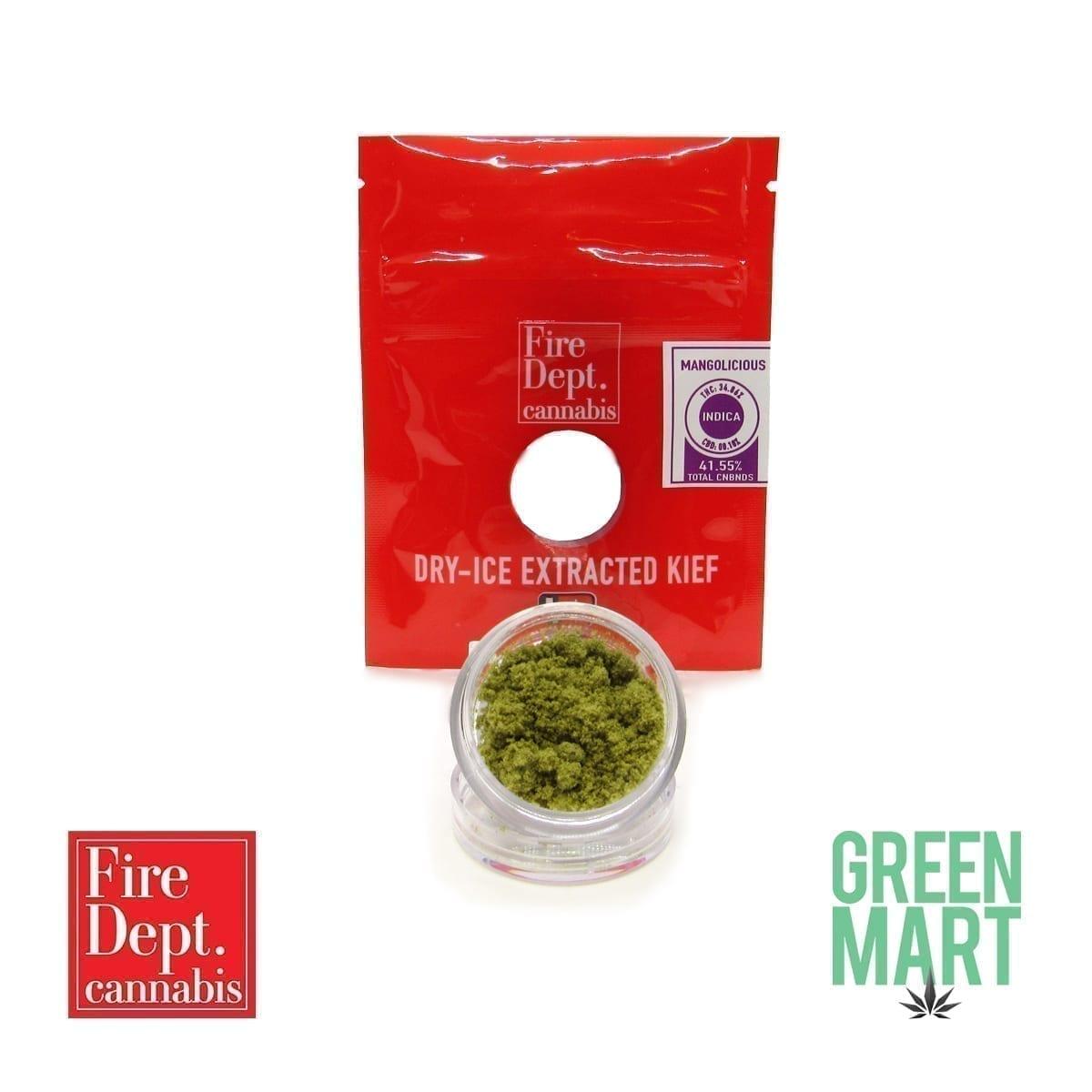Kief by Fire Dept. Cannabis - Mangolicious