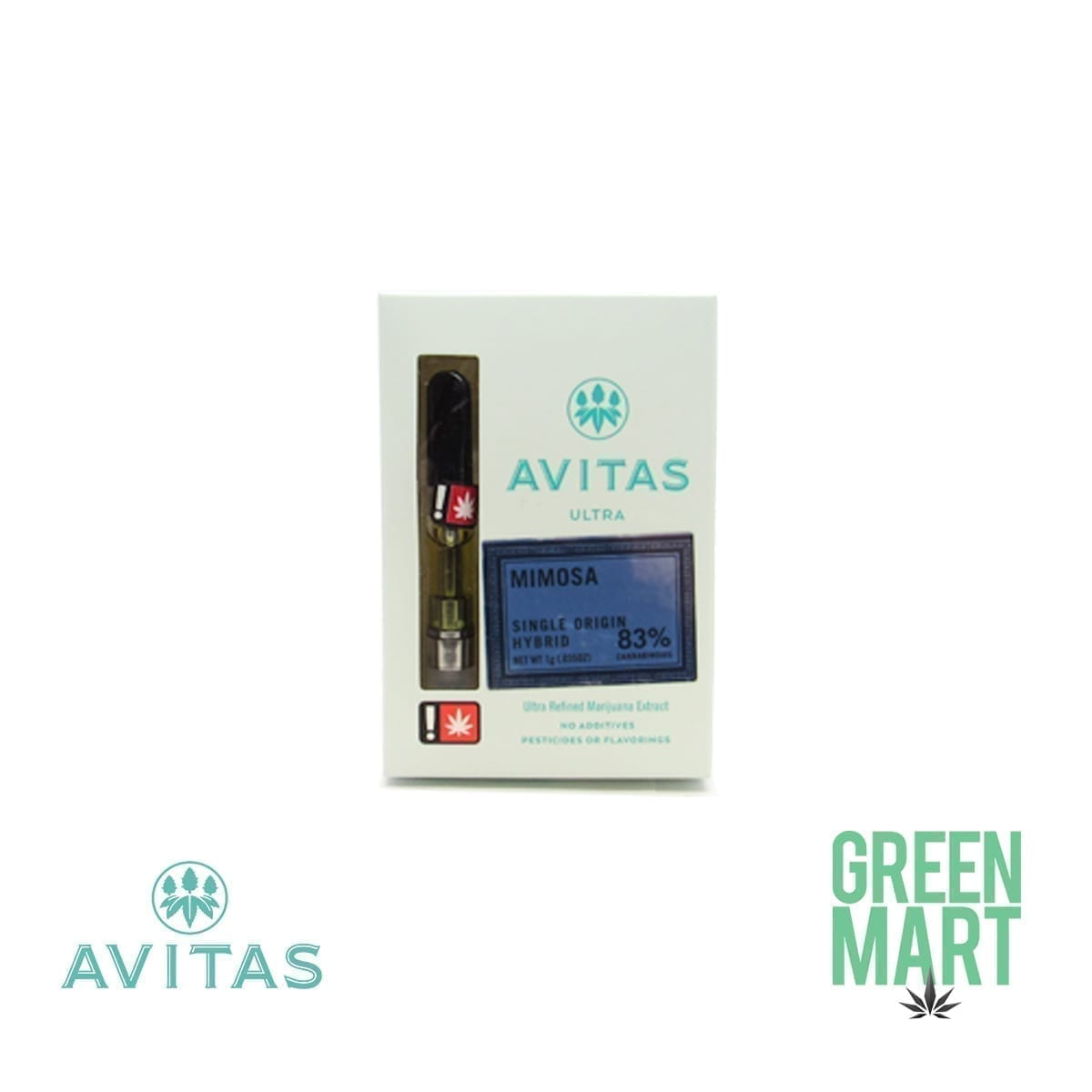 Avitas Ultra Distillate Cartridge - Mimosa