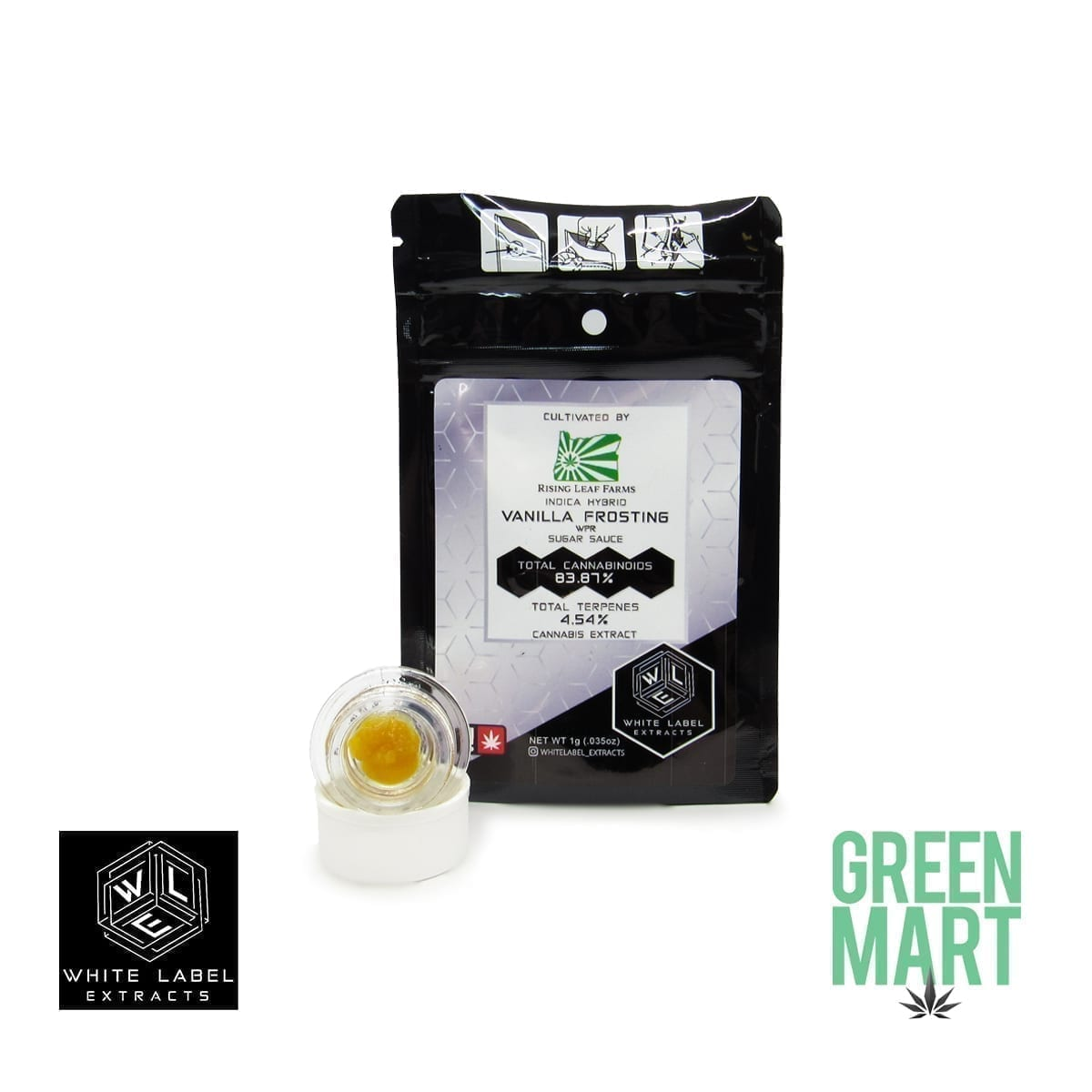 White Label Extracts - Vanilla Frosting Sugar Sauce