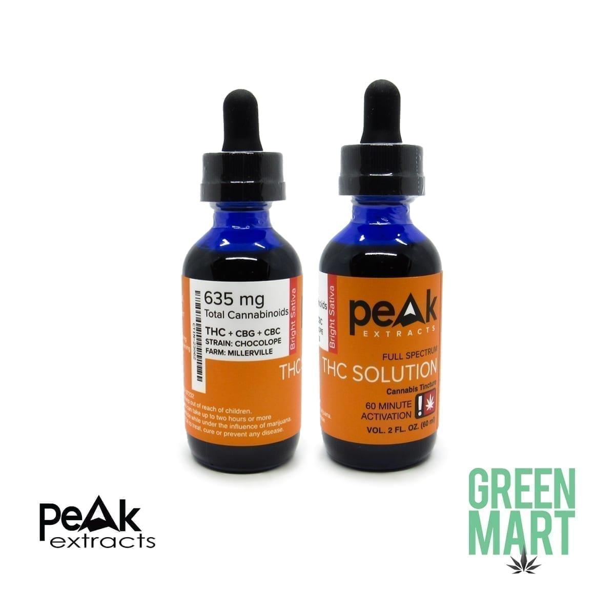 Peak Extracts Tincture - Chocolope