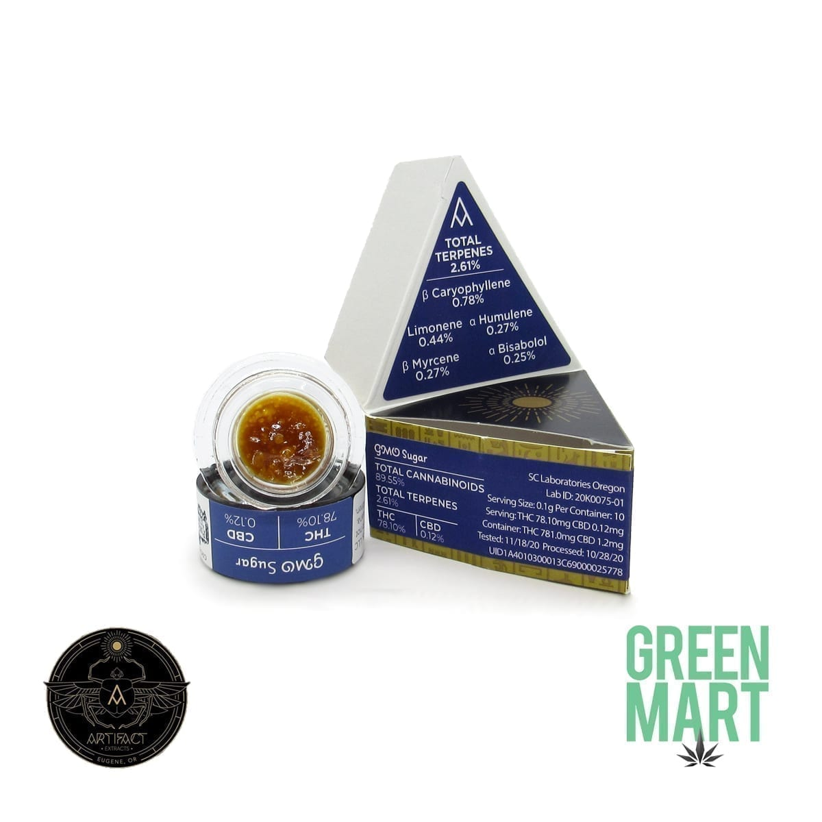 Artifact Extracts - GMO Sugar