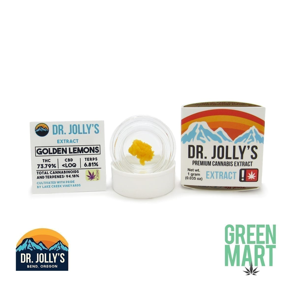 Dr. Jolly's Extracts - Golden lemons