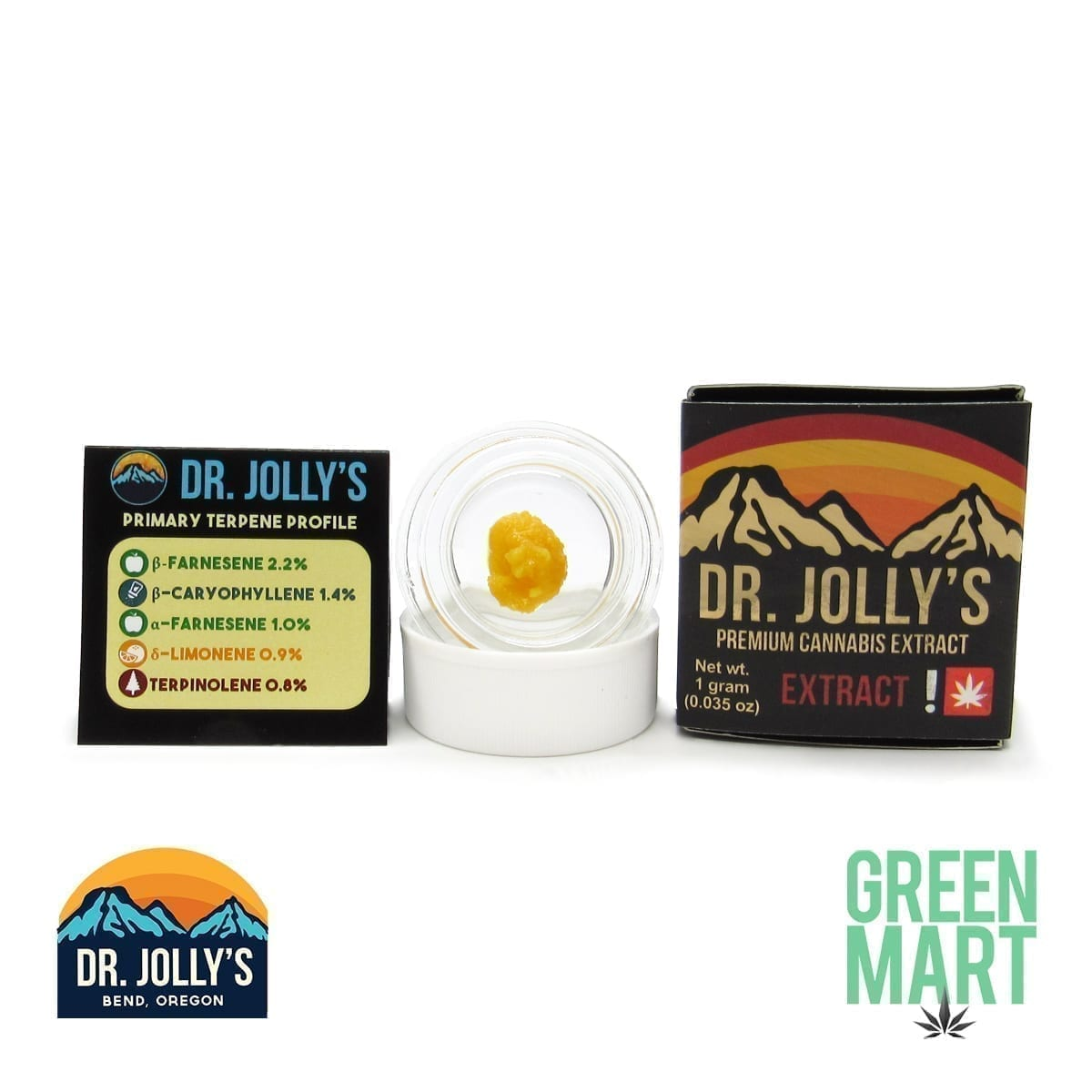 Dr. Jolly's Extracts - Jack's Fire