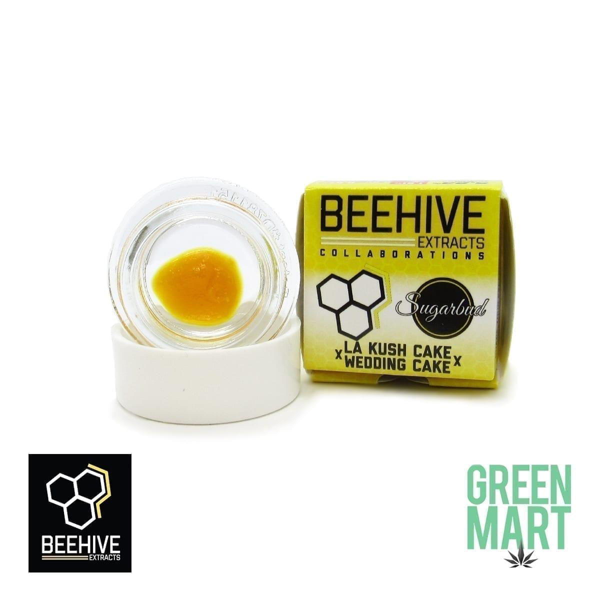 Bee Hive Extracts - LA Kush Cake X Wedding Cake