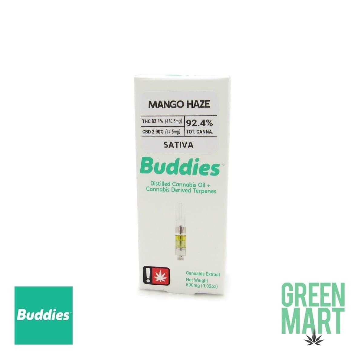 Buddies Brand Distillate Cartridge - Mango Haze