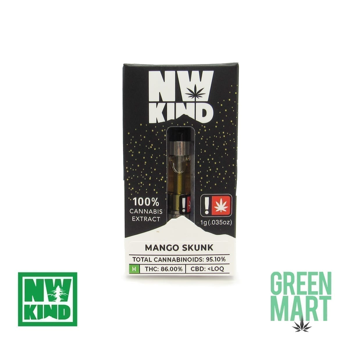 NW Kind Distillate Cartridge - Mango Skunk