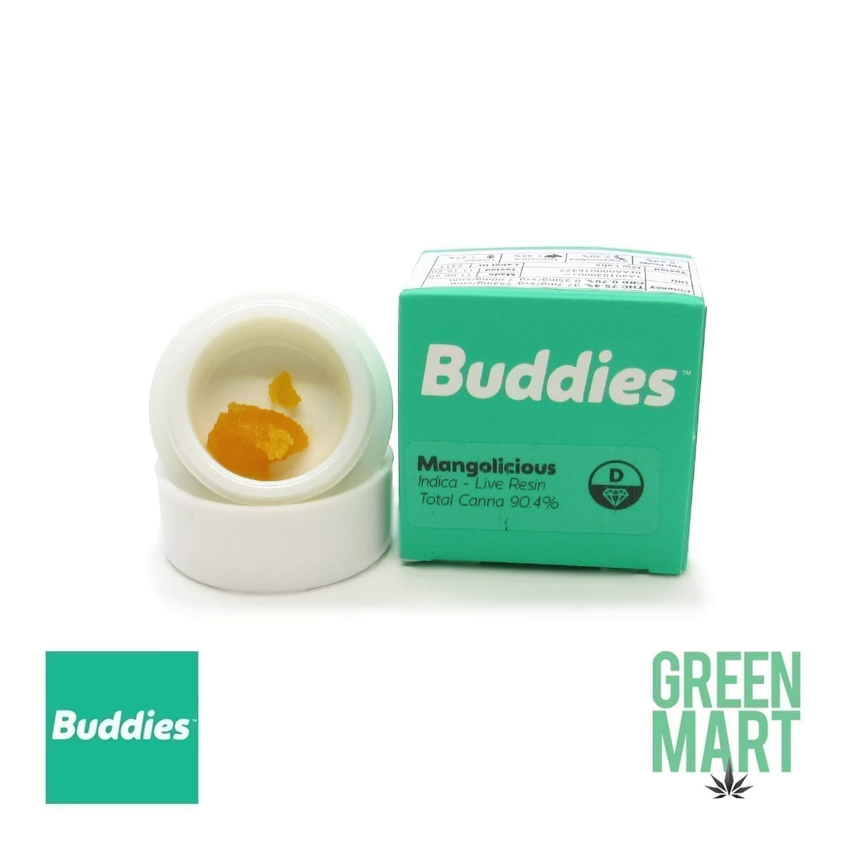 Buddies Dab - Mangolicious