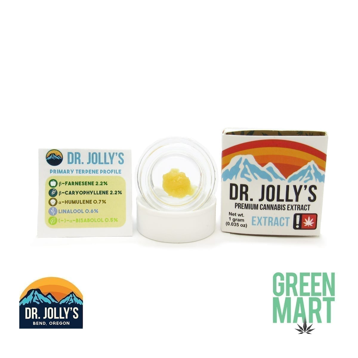 Dr. Jolly's Extracts - Purple Punch X Kosher Kush
