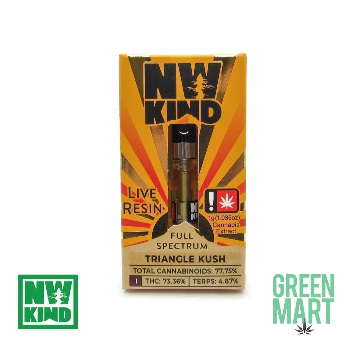 NW Kind Distillate Cartridge - Triangle Kush