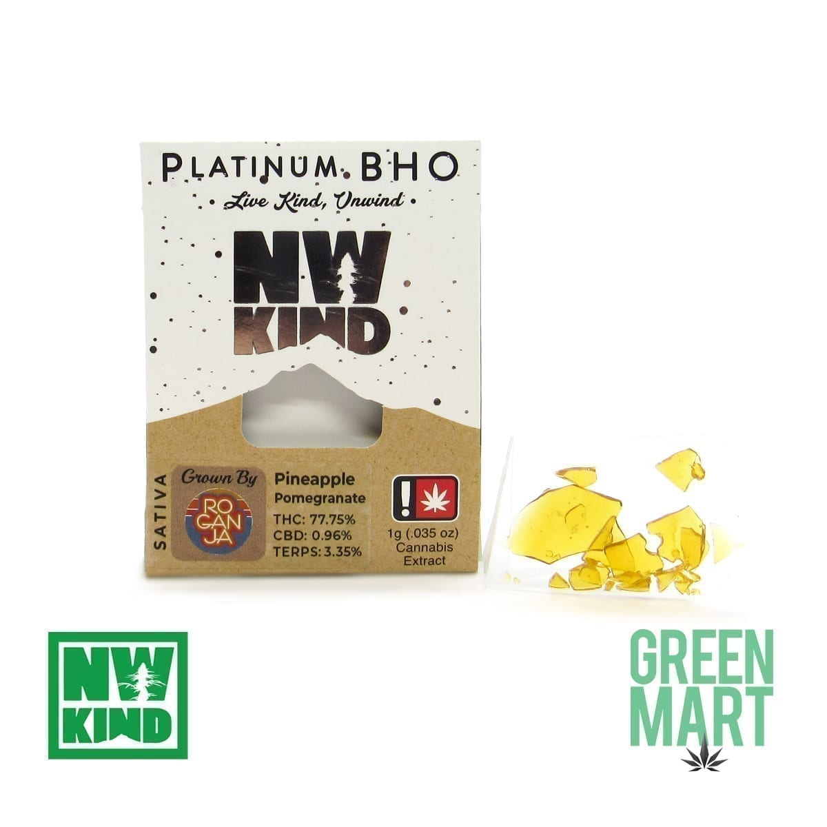 NW Kind Shatter - Pineapple Pomegranate
