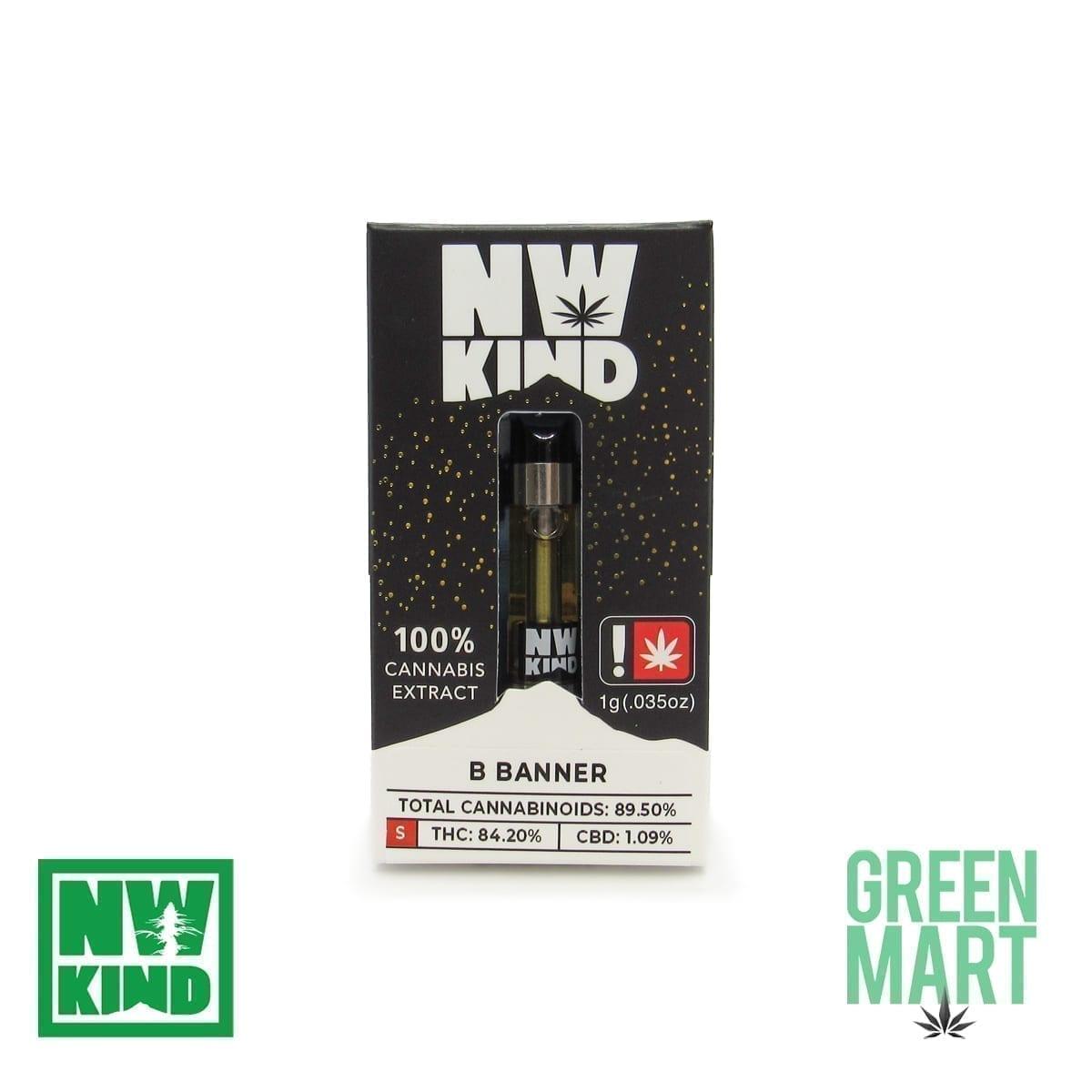 NW Kind Distillate Cartridge - Bruce Banner