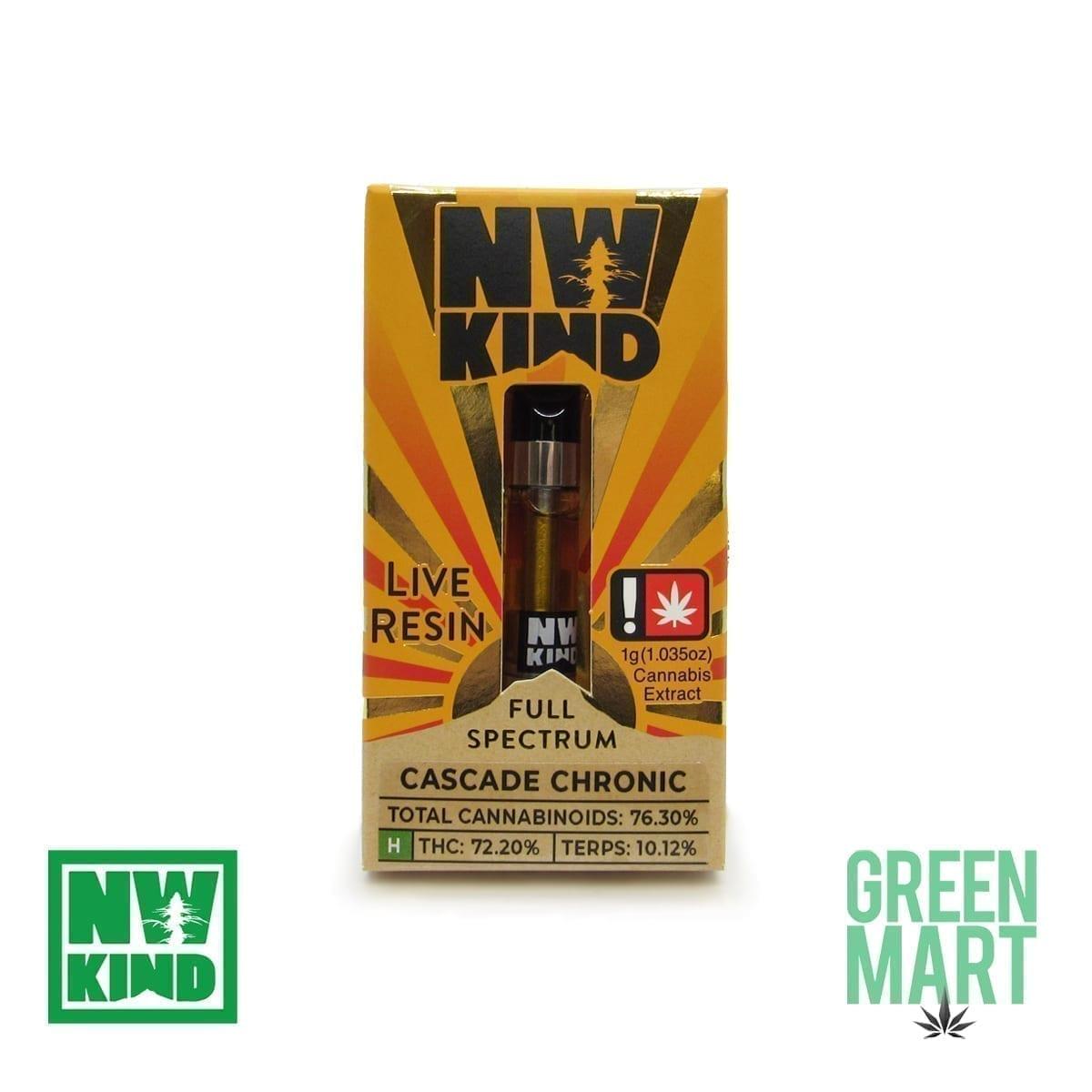 NW Kind Distillate Cartridge - Cascade Chronic