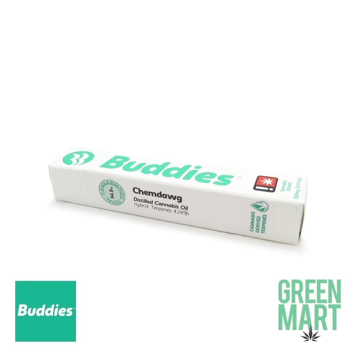 Buddies Brand Disposable Vape - ChemDawg