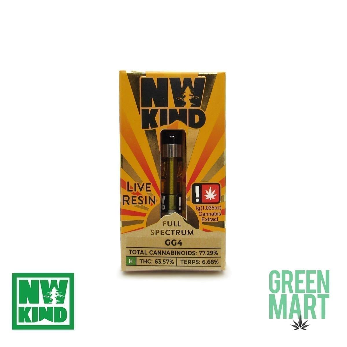 NW Kind Distillate Cartridge - Gorilla Glue 4
