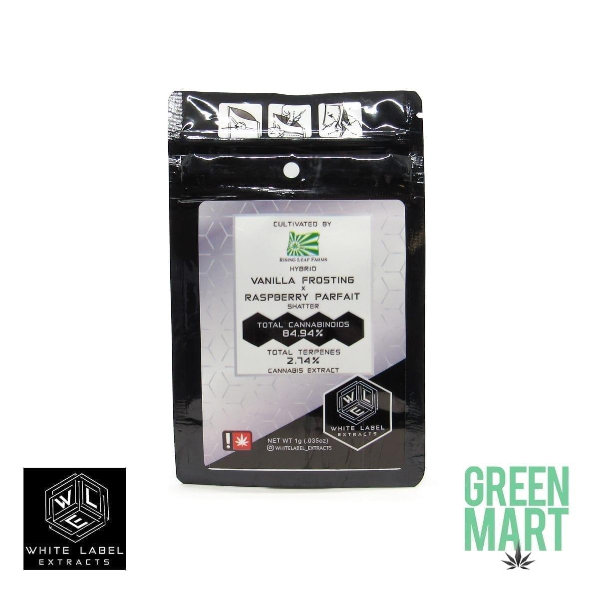 White Label Extracts - Vanilla Frosting X Raspberry Parfait