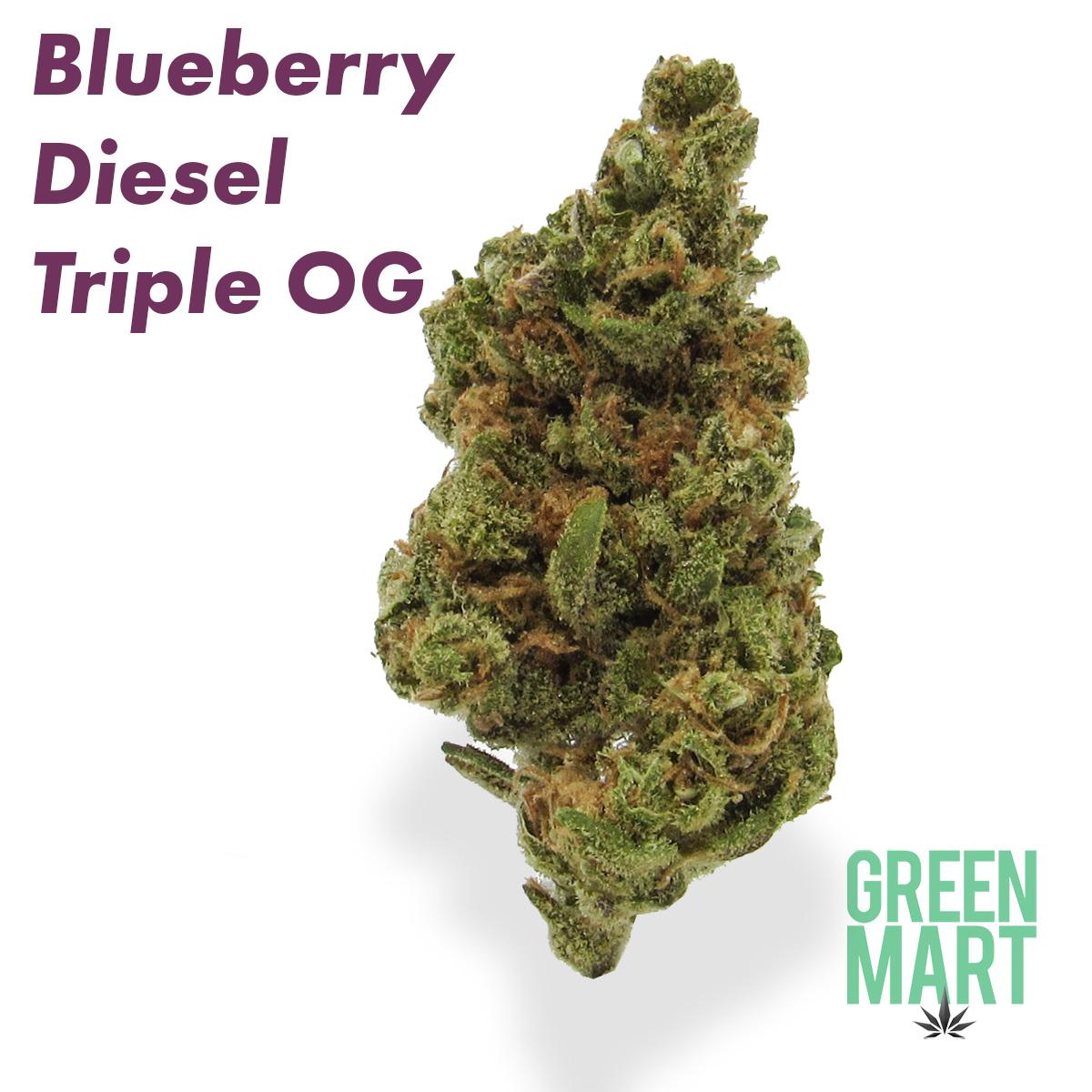 Blueberry Diesel Triple OG