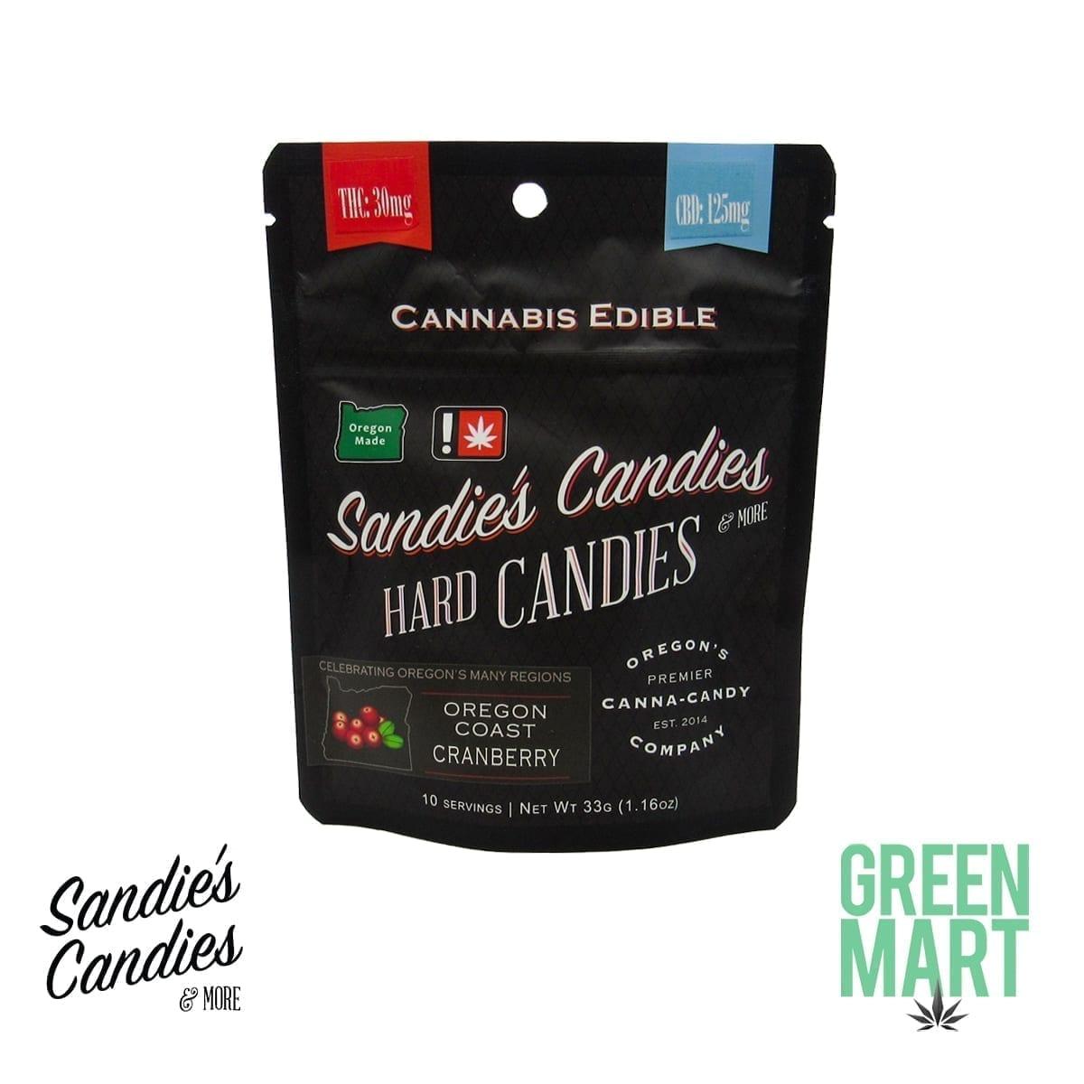 Sandie's Hard Candies - 4:1 CBD Cranberry