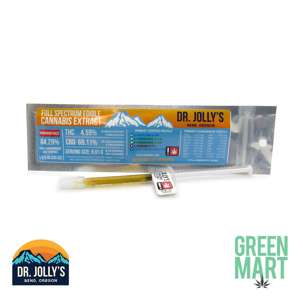 Dr Jolly's RSO - Hawaiian Haze
