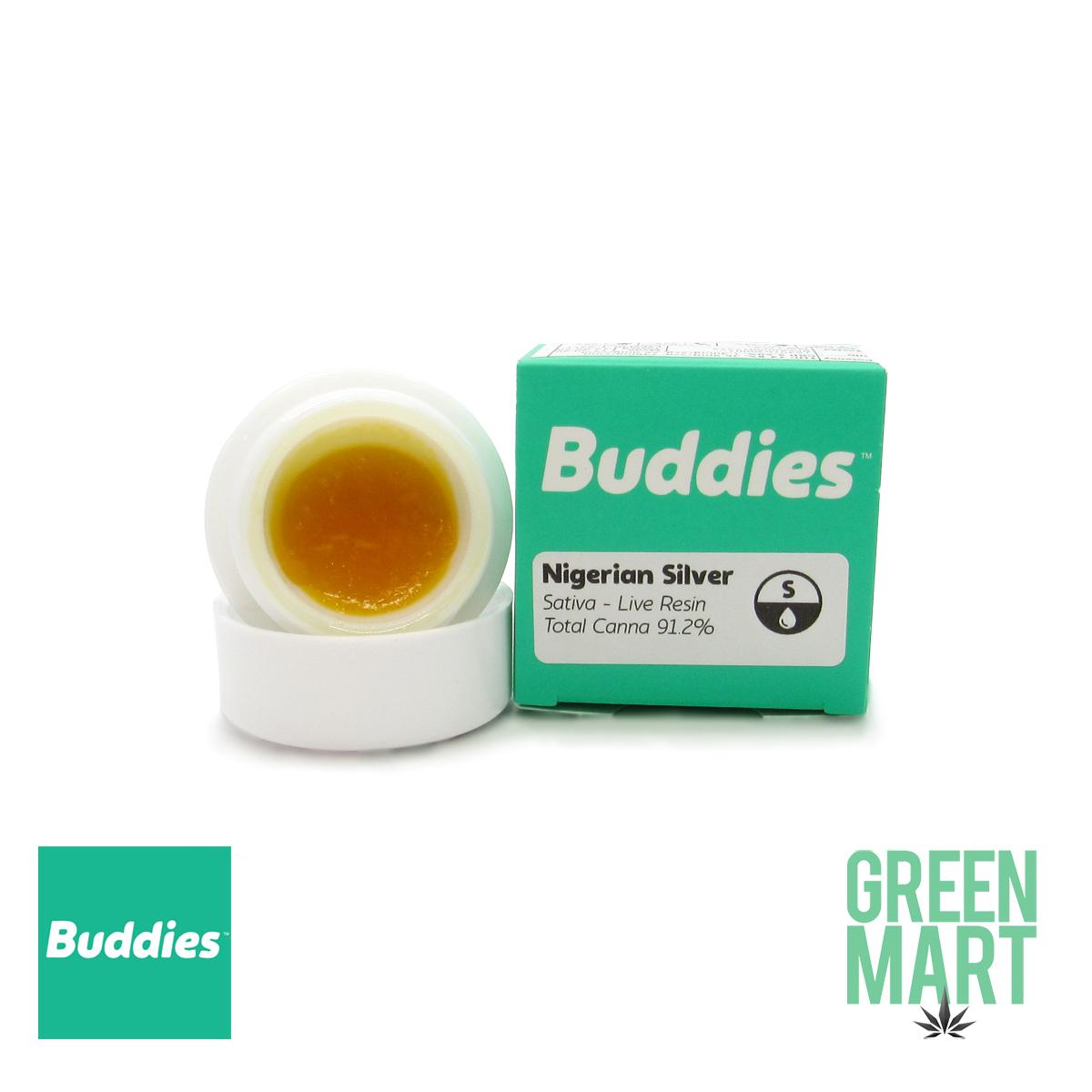 Buddies Dab - Nigerian Silver