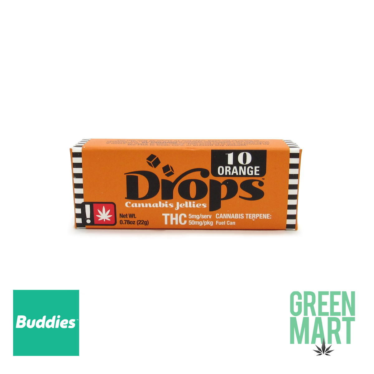 DROPS - Creative Orange 50mg (10 Servings)