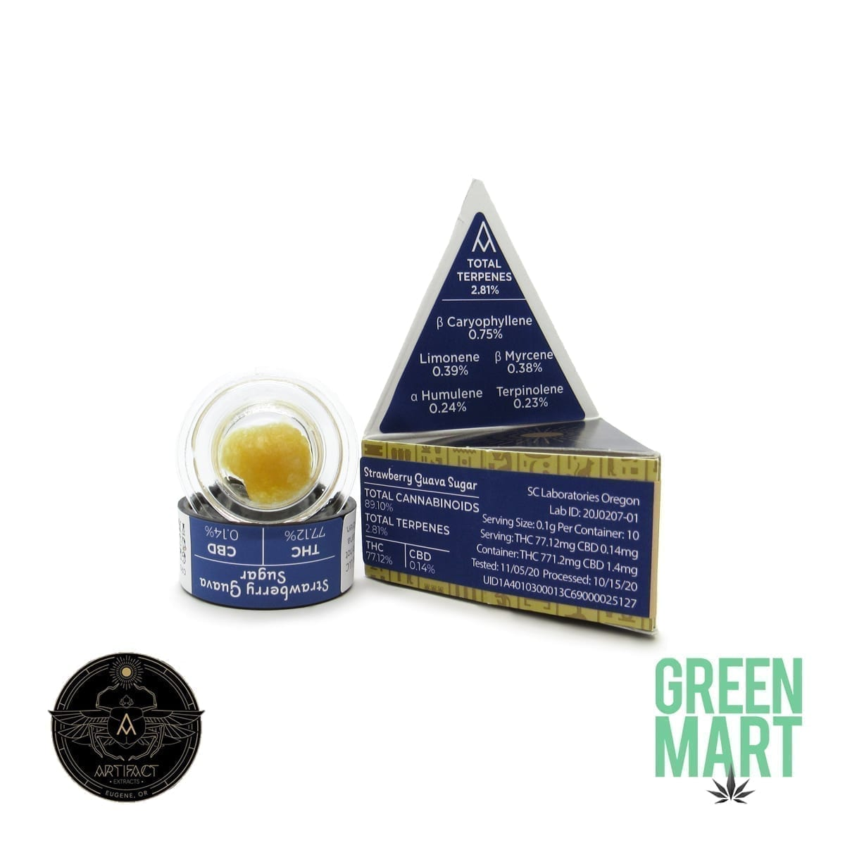 Artifact Extracts - Strawberry Guava Sugar