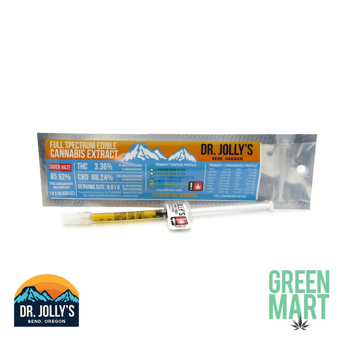 Dr Jolly's RSO - Suver Haze