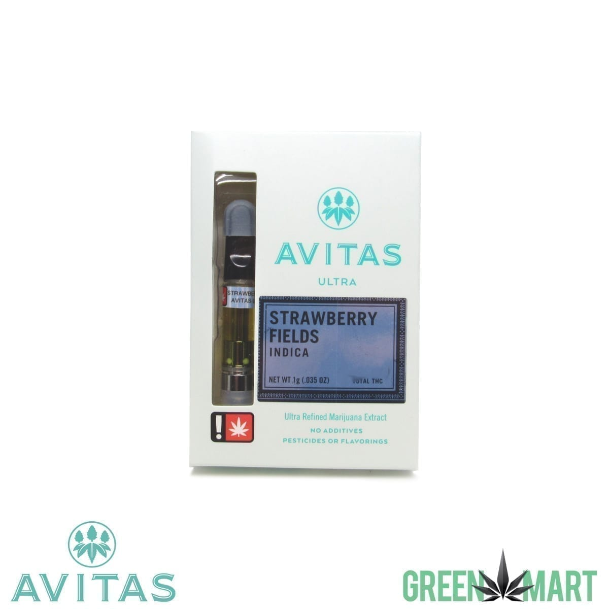 Avitas Live Resin Cartridge - Strawberry Fields 1g
