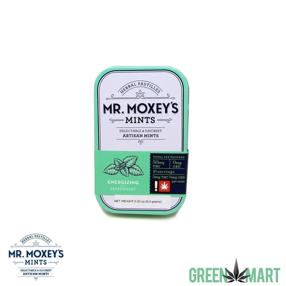 Mr. Moxey's Mints - THC Energize Peppermint